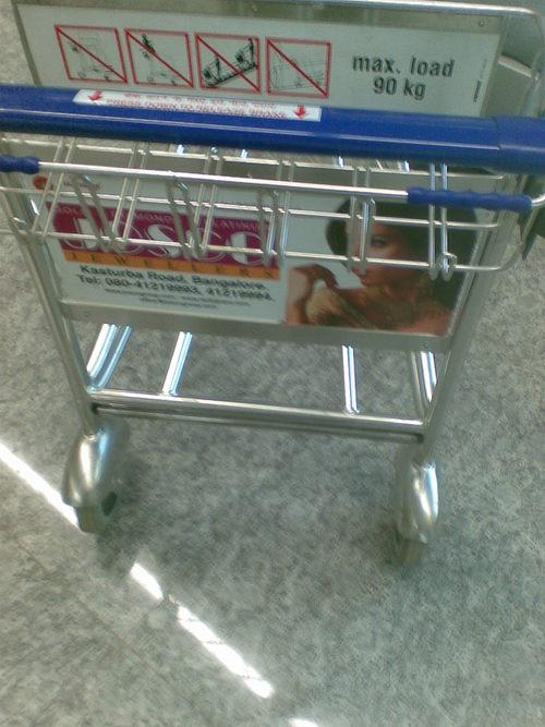 Shopping Mall Trolley