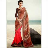 SIMPLE PARTY WEAR SAREE