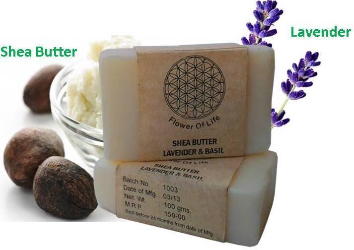 Shea Butter Lavender & Basil Soap