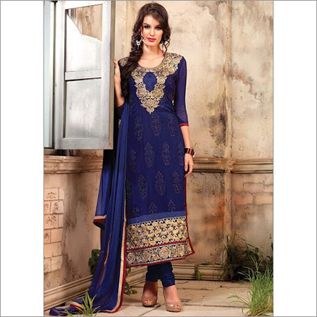 Blue Churidhar Suit