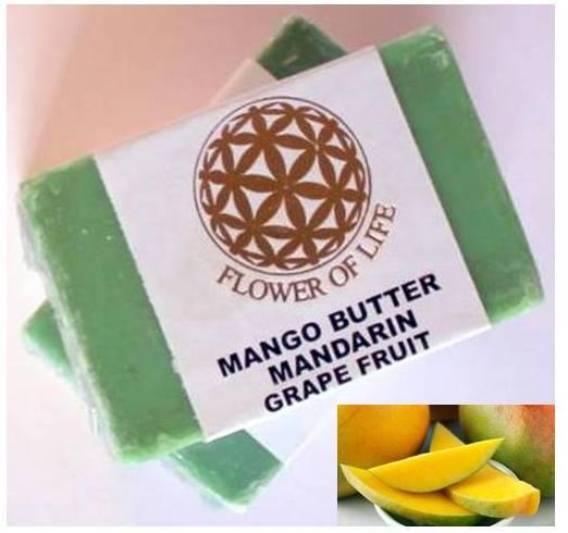 Mango Butter Mandarin Grape Fruit Soap
