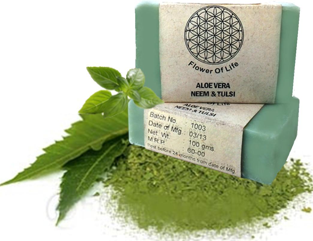 Aloe-Vera Neem Tulsi Soap