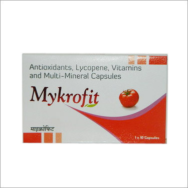 Antioxidants Lycopene Vitamins and Multimineral Capsules