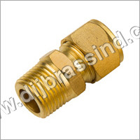 Brass Male Connector Assembly