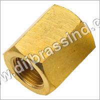 Brass Hex Socket Coupling (BSP)