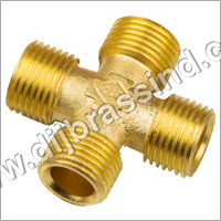 Brass Male Four way Connector