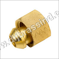 Brass Solder Nut & Nipple