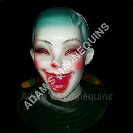 Clown Face Mannequins