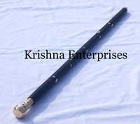 Black Nautical Brass Stick