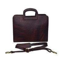 Leather Shoulder Office College Bag
