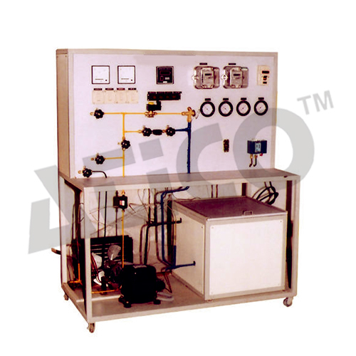 Vapour Compression Refrigeration Test Rig