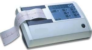 Three Channel Electrocardiograph