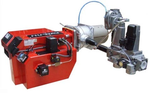 Industrial MDFL Dual Fuel Burner