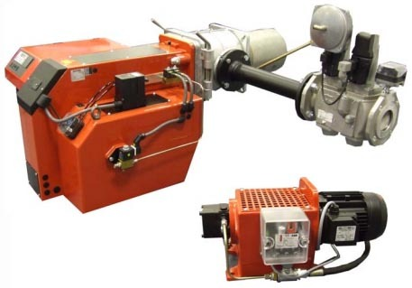MDFL Industrial Dual Fuel Burner