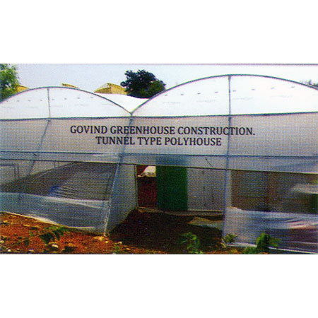 Tunnel Type Polyhouse