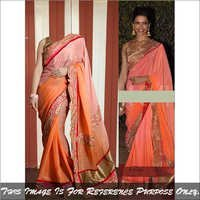 Ethnic Latest Stylish Saree Bollywood Replica Party Wear Designer Sari