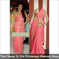 Bollywood Replica Saree Latest Stylish Party Wear Fancy Sari