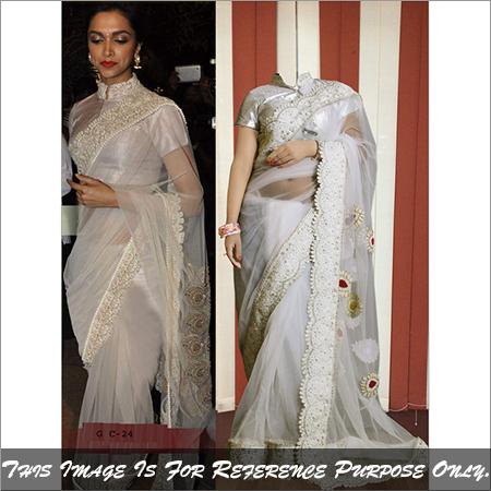 Ethnic Exclusive Bollywood Replica Saree Latest Stylish Designer Sari