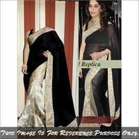 Bollywood Replica Fancy Saree Latest Stylish Party Wear Bridal Sari