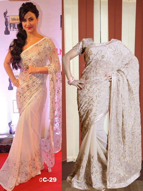 Designer Exclusive Saree Latest Stylish Bollywood Replica Sari
