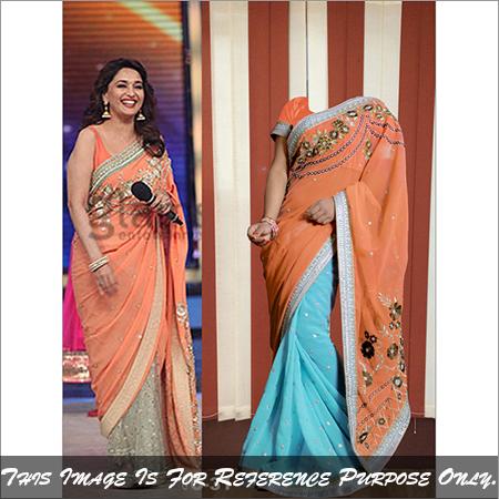 Bridal Designer Exclusive Fancy Saree Bollywood Replica Party Wear Sari