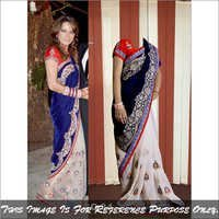 Ethnic Designer Fancy Saree Bollywood Replica Latest Stylish Sari