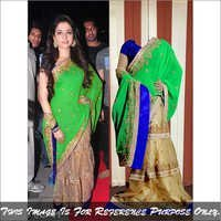 Bollywood replica Exclusive Saree Latest Stylish Fancy Designer Sari