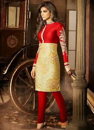 Bollywood Style Churidar Suit