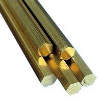 Brass Hexagonal Rods