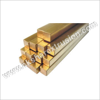 Brass Square Rods