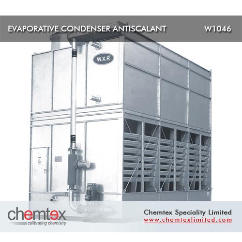 Evaporative Condenser Antiscalant