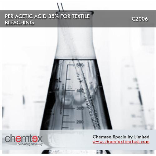 Per Acetic Acid 35 for textile bleaching