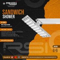 Square Sandwich Shower