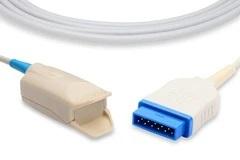 GE Marquette (Nellcor) SpO2 Sensor, 9 Foot Cable 407705-006