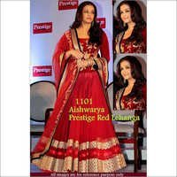 Bollywood Replica Designer Aishwarya Red Lehenga