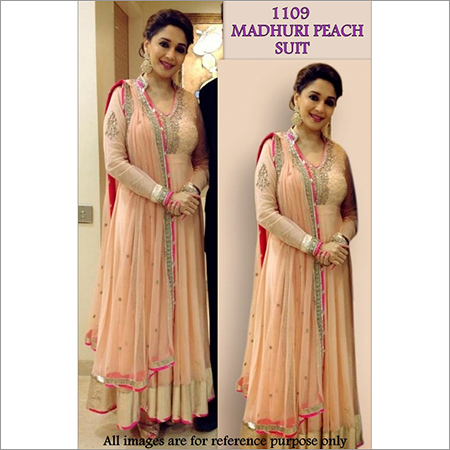Bollywood replica Designer Madhuri Georgette Suit