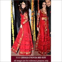 Bollywood replica Genalia Stylish Nett Suit