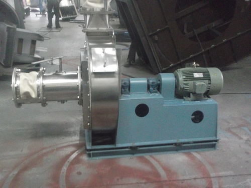 SS Coupled Fan for Food Processing