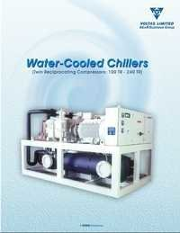 Water Cooled Chilling Plant