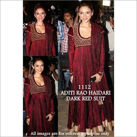 Bollywood replica Designer Aditi Fancy Velvet Suit