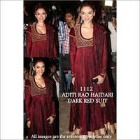 Bollywood replica Designer Aditi Fancy Velvet Suit