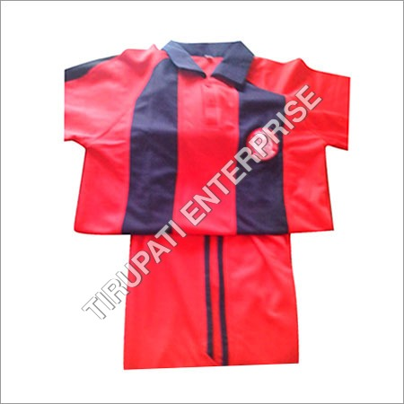 Striped Sports Uniform