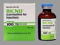 Carmustine (BiCNU) Injection