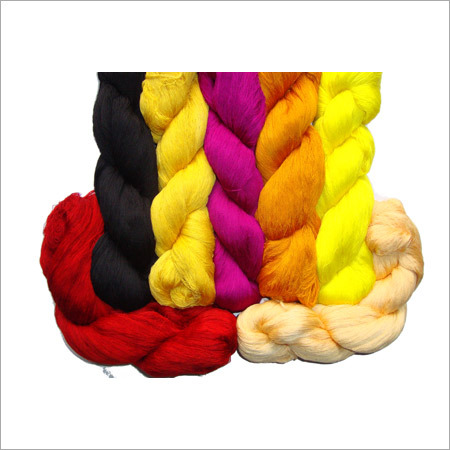 Dyeing Silk Yarn