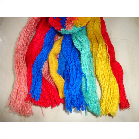 Silk Wool Blended yarn with dyed