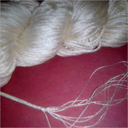 100% Mulberry Spun Silk Yarn 10 Ply