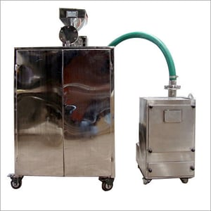 Pulverize With Feed Screw And Dust Collector