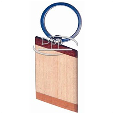 Personalized Wooden Key Ring