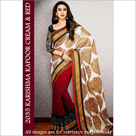 Bollywood replica Designer Karshima Stylish Exelusive Sari