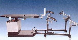 Specially designed Electromatic table 'C' Arm Compatible, Orthopaedic-attachment